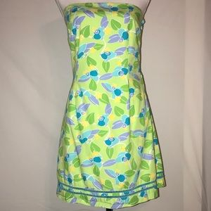 Lilly Pulitzer Womens Dress Too Jays Size 10